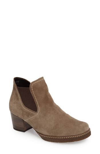 Gabor Trendy Bootie- Grey