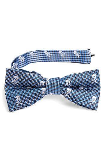 Boys Nordstrom Skulls Silk Bow Tie