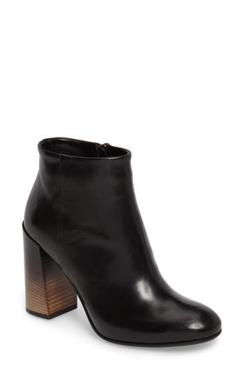 Alberto Fermani Milena Degrade Heel Bootie- Black