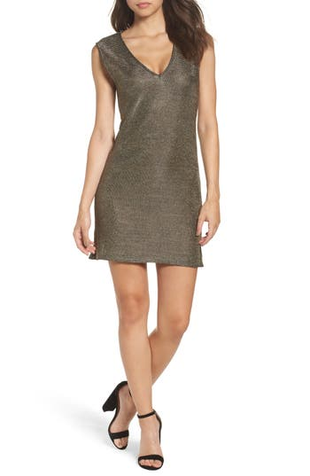 French Connection Leah Metallic Jersey Dress, Metallic