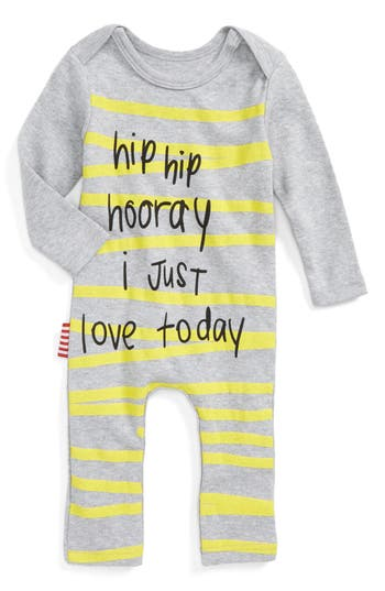 Infant Sookibaby Hip Hip Hooray Romper