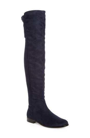 Corso Como Landow Over The Knee Boot- Blue