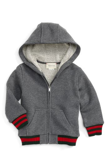 Infant Boys Gucci Felted Jersey Hoodie