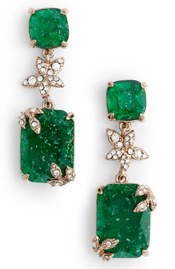 Women's Jenny Packham Double Drop Earrings