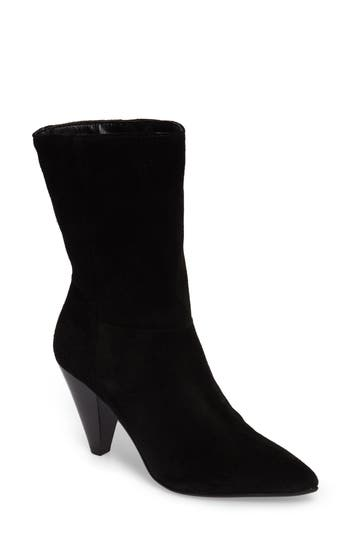 Topshop Hollie Pointy Toe Bootie - Black