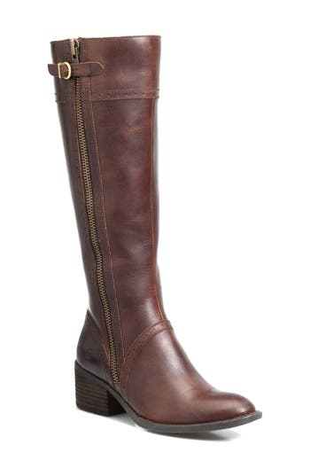 B?rn Poly Riding Boot Regular Calf- Brown