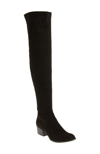 Kenneth Cole New York Adelynn Over The Knee Boot, Black