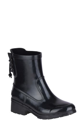 Sperry Aeriel Lana Waterproof Bootie, Black