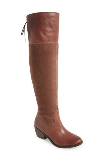 Lucky Brand Komah Over The Knee Boot, Regular Calf- Brown