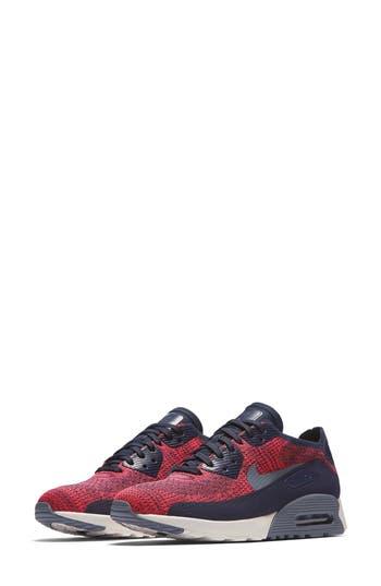 Nike Air Max 90 Flyknit Ultra 2.0 Sneaker- Blue