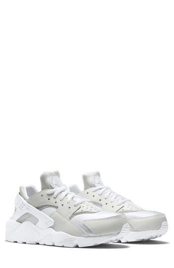 Nike Air Huarache Run Sneaker- White