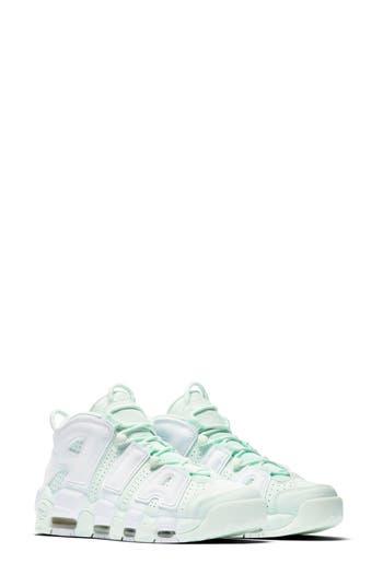 Nike Air More Uptempo Sneaker, Green