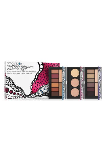 Smashbox Drawn In, Decked Out Eyeshadow & Highlight Palette Set - No Color
