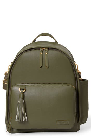 Infant Skip Hop Greenwich Simply Chic Diaper Backpack