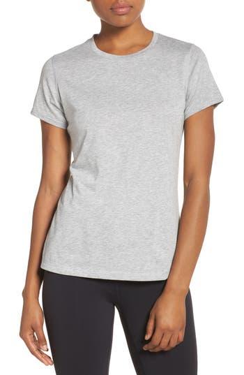 New Balance Heather Tech Tee, Grey