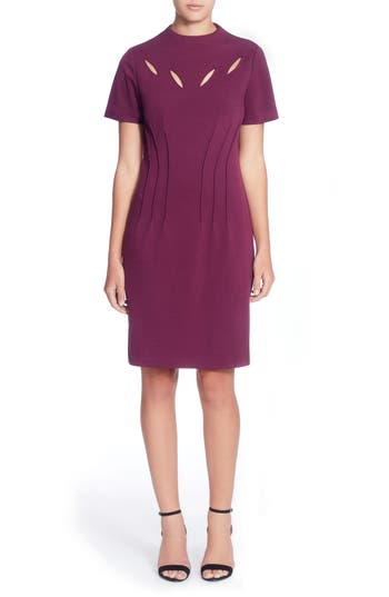 Catherine Catherine Malandrino Jesse Sheath Dress, Purple