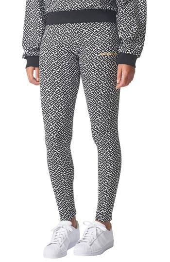 Adidas Originals Aop Leggings, White