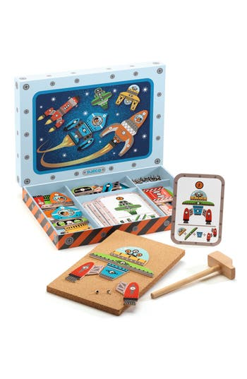 Boy's Djeco Space Tap Tap Game