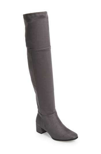Chinese Laundry Festive Over The Knee Boot- Metallic