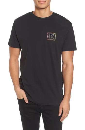 Billabong Psycho Wave T-Shirt, Black