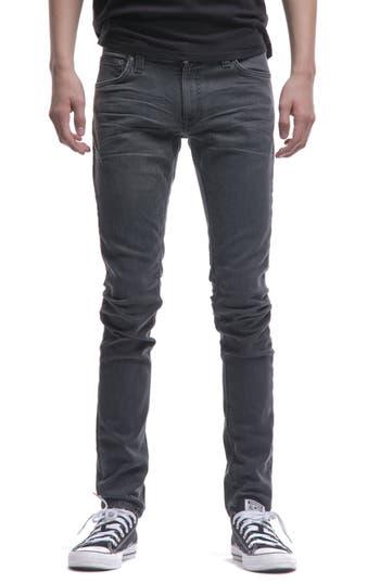 Nudie Jeans Skinny Lin Skinny Fit Jeans, Black