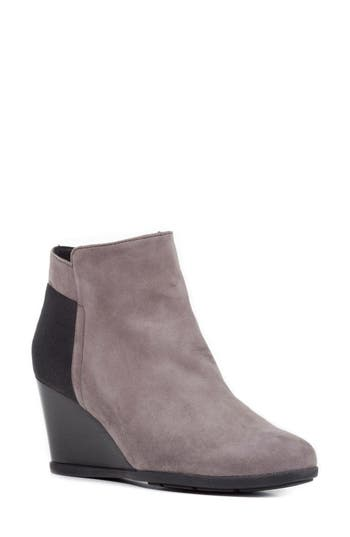 Geox Inspiration Wedge Bootie, Brown