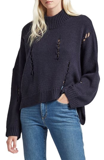 Women's French Connection Nixo Distressed Sweater at NORDSTROM.com