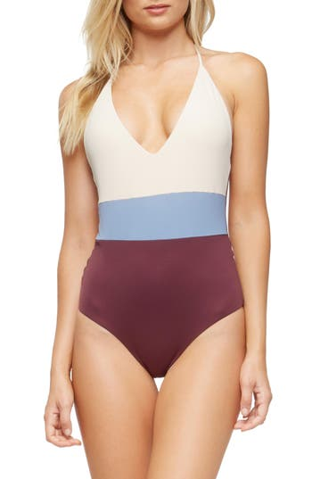 Tavik Chase One-Piece Swimsuit, Blue