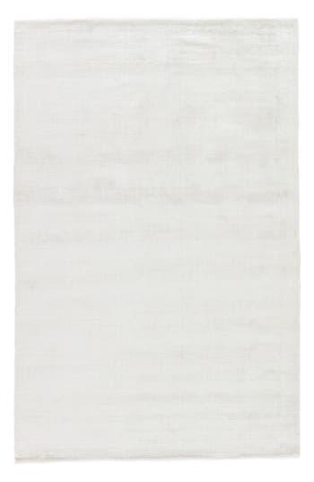 Jaipur Yasmin Rug, Size Swatch - White