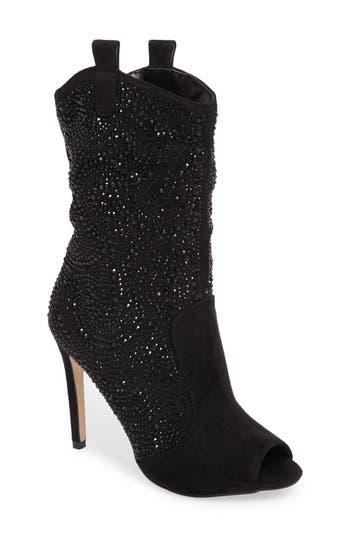 Lauren Lorraine Layla Embellished Boot- Black