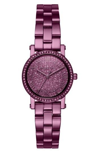 Women's Michael Kors Petite Norie Pave Bracelet Watch, 28Mm