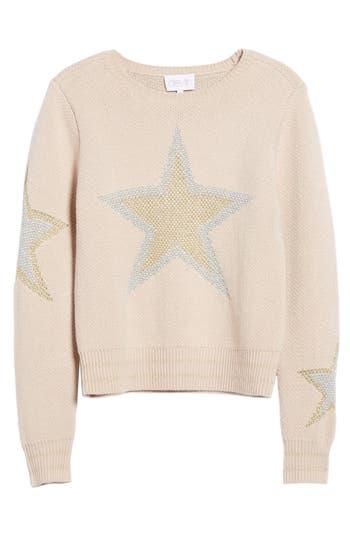 Women's Devlin Misty Star Sweater, Size X-Small - Pink