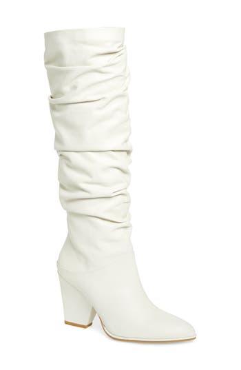 Stuart Weitzman Smashing Knee High Boot, White
