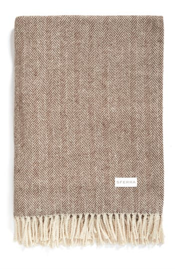 Sferra Celine Throw, Size One Size - Brown