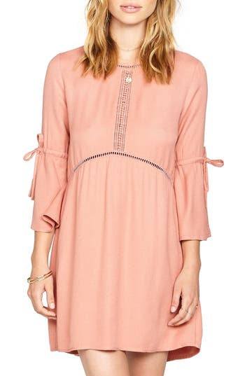 Amuse Society On The Go Crepe Dress, Pink