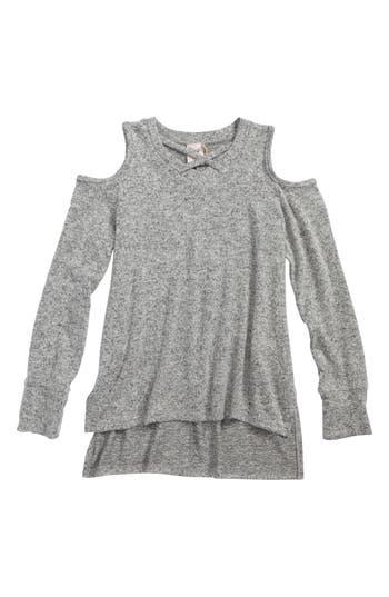 Girls For All Seasons Cold Shoulder Sweater