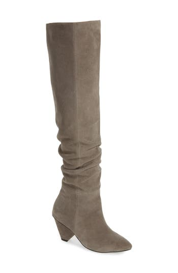 Jeffrey Campbell Senita Over The Knee Boot, Grey