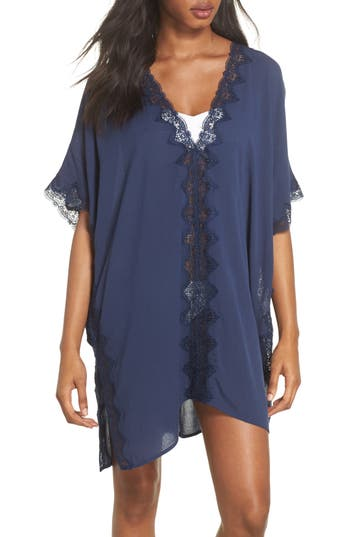 Women's Chelsea28 Cover-Up Tunic, Size X-Small/Small - Blue