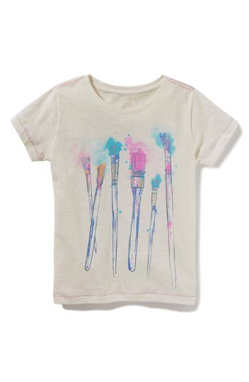 Infant Girls Peek Art Is Not What You See Graphic Tee
