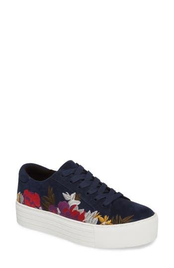 Kenneth Cole New York Abbey Platform Sneaker, Blue