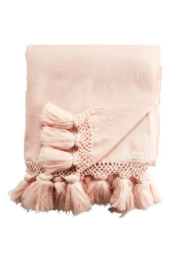 Kate Spade New York Seaport Throw, Size One Size - Pink