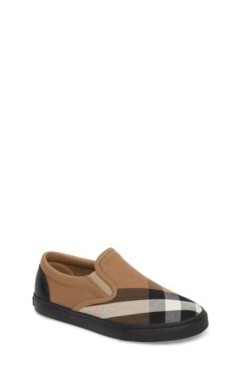 Toddler Boys Burberry Linus SlipOn Size 85US  26EU  Black