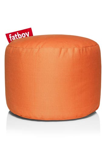 Fatboy Point Stonewash Ottoman, Size One Size - Orange