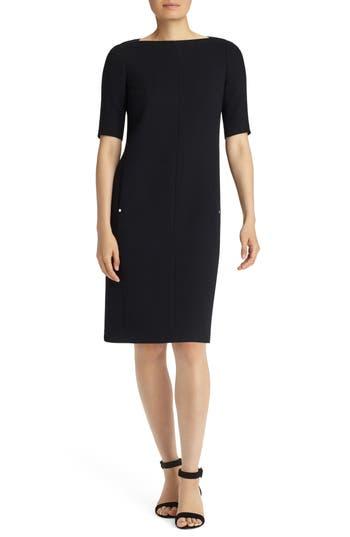 Lafayette 148 New York Cyra Shift Dress, Black