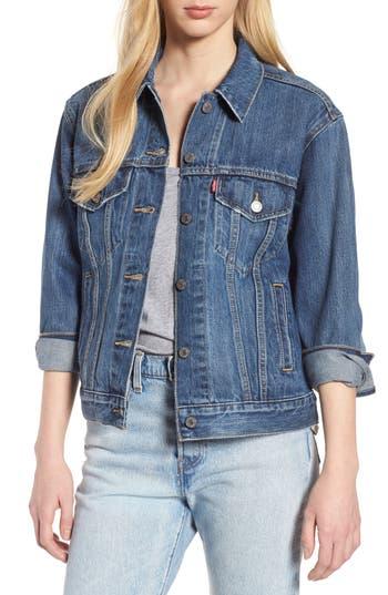Levi's® Ex-Boyfriend Denim Trucker Jacket