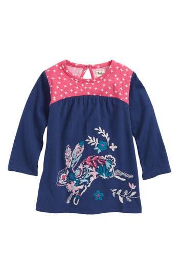 Infant Girl's Hatley Mini Tunic, Size 3-6M - Blue