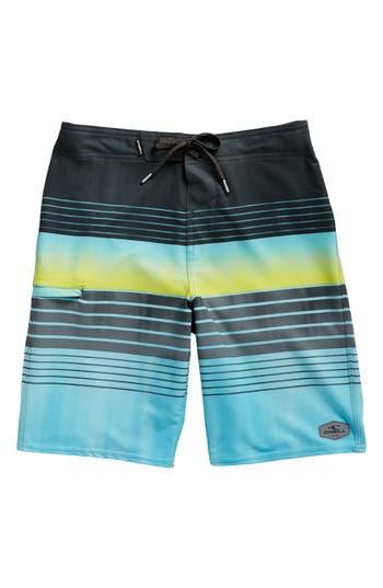 Boy's O'Neill Hyperfreak Heist Board Shorts, Size 22 - Blue