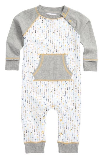 Infant Boys BurtS Bees Baby This Way Organic Cotton Romper