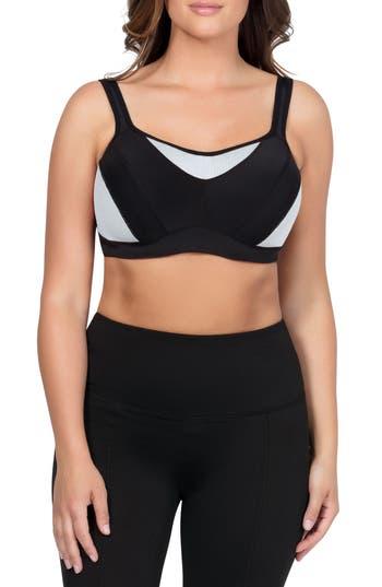Parfait Active Underwire Sports Bra - Black