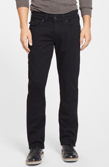 True Religion Brand Jeans Ricky Relaxed Fit Jeans, Black